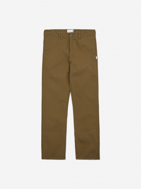 Khaki Tight Trouser - Olive Drab