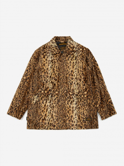 B.C Fur / R-Coat - Leopard