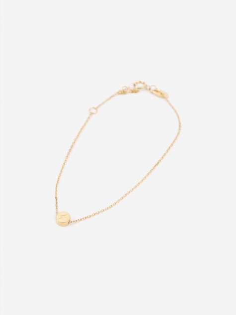 Modern Words Lightning Bracelet - 18ct Yellow Gold