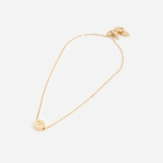 Ruifier Modern Words Iris Bracelet - 18ct Yellow Gold