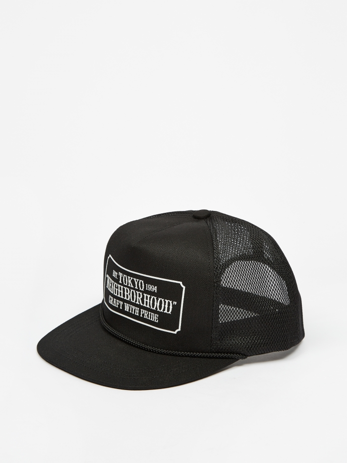 Neighborhood WP Trucker / EC-Cap - Black (Image 1)