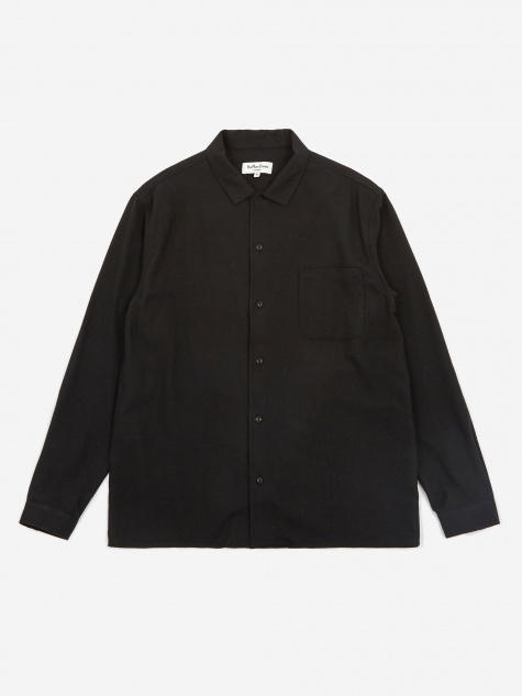 Feathers Shirt - Black