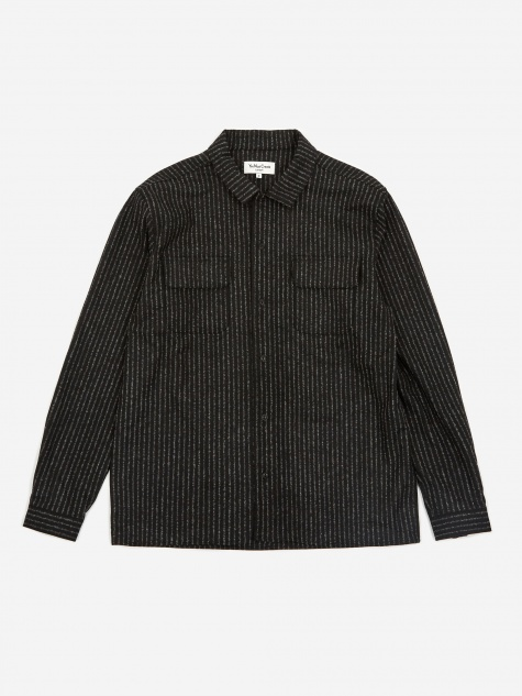 Feathers Shirt - Black/Ecru