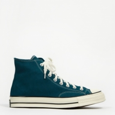Converse Chuck Taylor All Star 70 Hi Suede - Midnight Turquoise