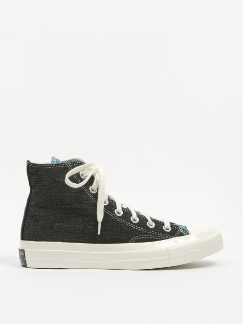 Chuck Taylor Renew Denim Chuck 70 Hi - Dark Denim/Light