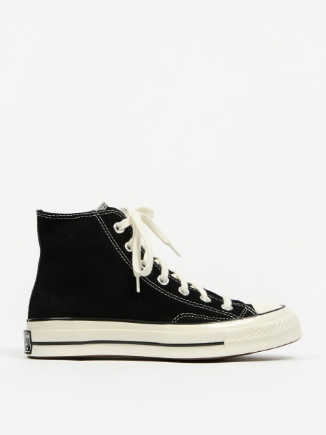 Chuck Taylor All Star 70 Hi Suede - Black/Egret