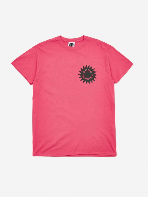 Sun Logo Shortsleeve T-Shirt - Hot Pink