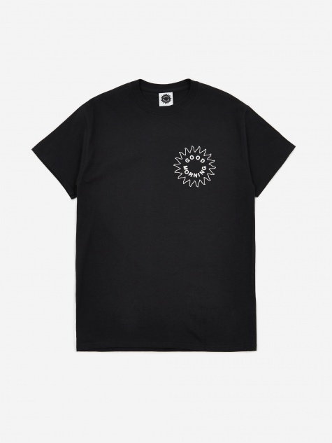Sun Logo Shortsleeve T-Shirt - Black