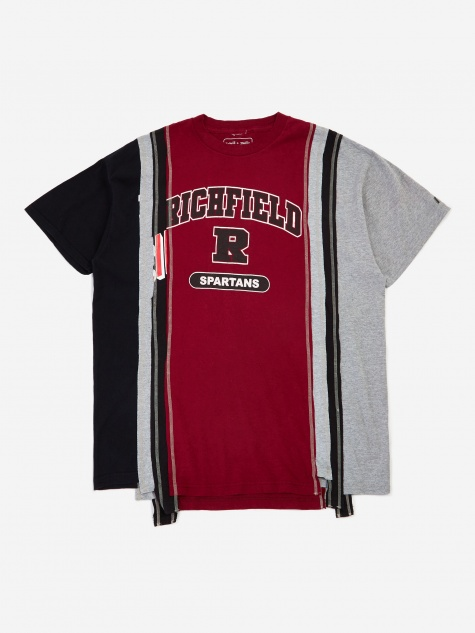 Rebuild Wide 7 Cuts College T-Shirt One Size 8 - Assorte