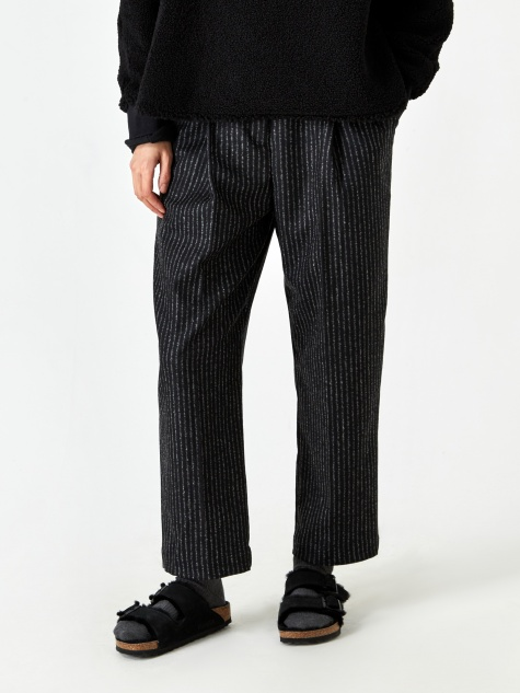 Market Trouser - Black/Ecru