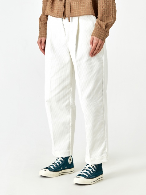 Market Trouser - White