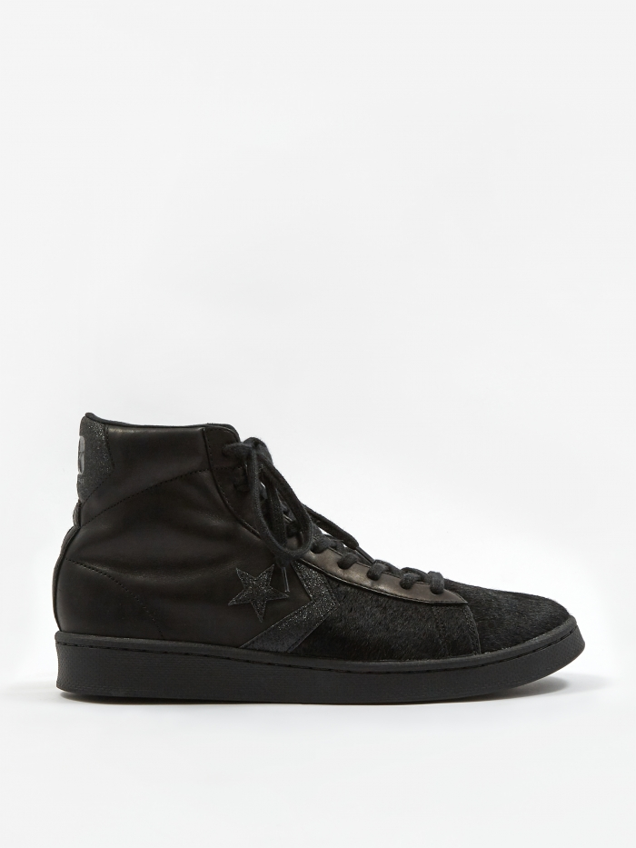 Converse Pro Leather Pony - Black (Image 1)