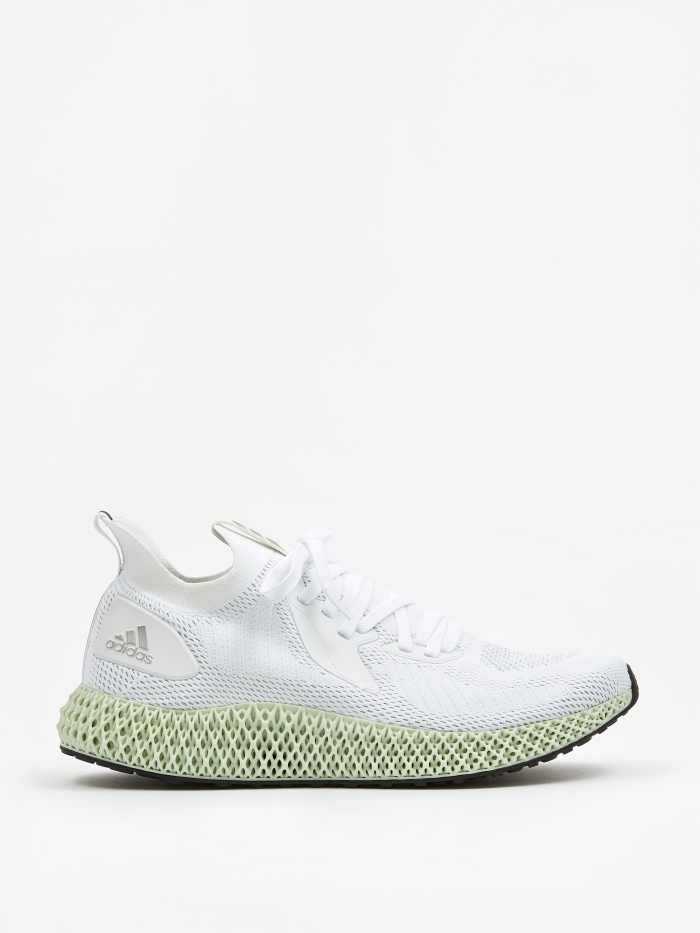 Adidas Alphaedge 4D Parley - White/Silver/Black (Image 1)