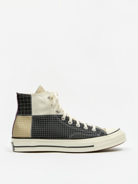 Chuck Taylor All Star 70 Hi Quad Ripstop - Black