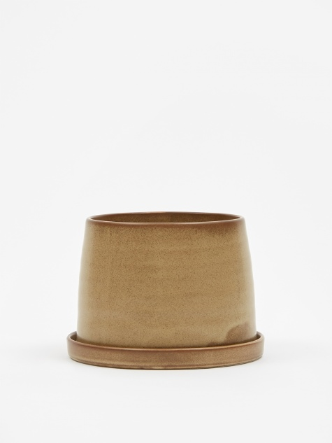 Plant Pot 110mm -Beige
