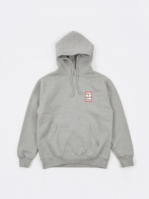 Mini Frame Pullover Hoodie - Heather Grey