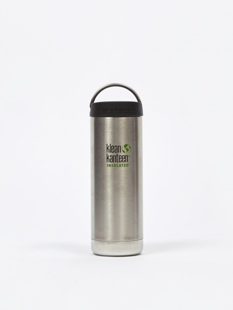 Insulated TKWide Bottle 16oz - Brushed Stainless