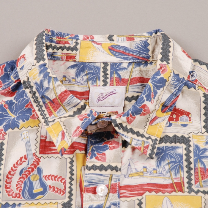 Garbstore Map Pocket Shirt - Multi (Image 1)