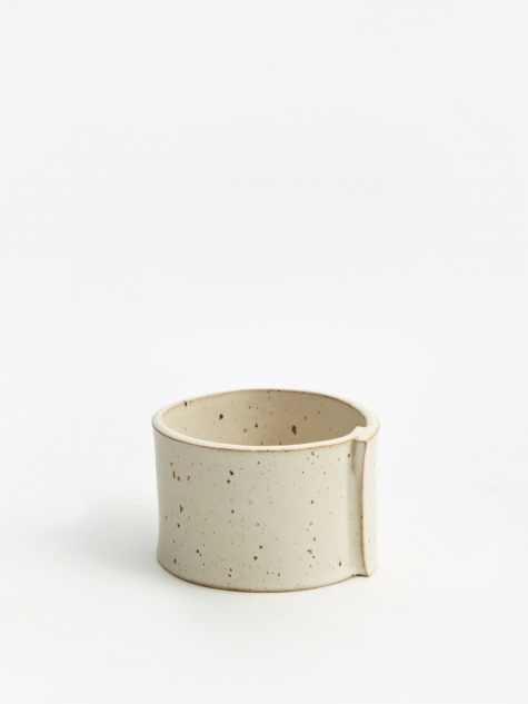 Stubby Pot - Satin Cream