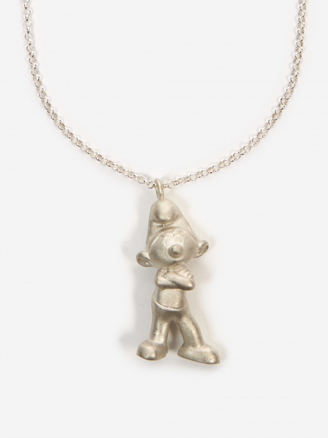 Smurf Pendant - Sterling Silver