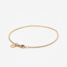 Goods by Goodhood Baby Belcher Bracelet - 9ct Yellow