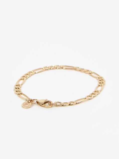 Metric Figaro Bracelet - 9ct Yellow