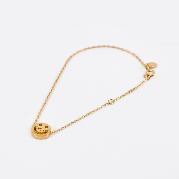 Ruifier Happy Bracelet - 18K Yellow Gold Vermeil (Image 1)