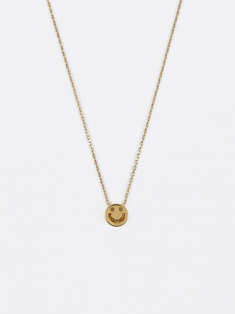 Happy Necklace - 18K Yellow Gold Vermeil