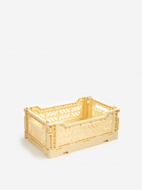 Colour Crate Small - Light Yellow