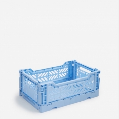Hay Colour Crate Small - Light Blue