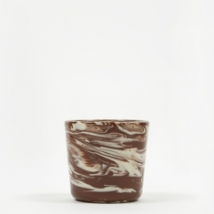 HAY Marbled Cup - Brown