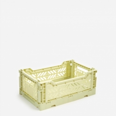 Hay Colour Crate Small - Lime