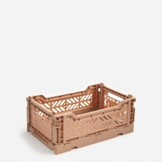 Hay Colour Crate Small - Nougat