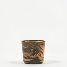 HAY Marbled Cup - Orange