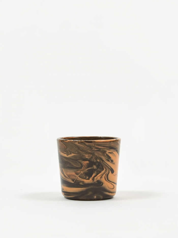 HAY Marbled Cup - Orange (Image 1)