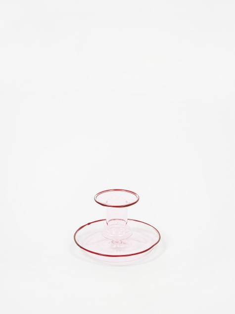 Flare Candle Holder - Pink