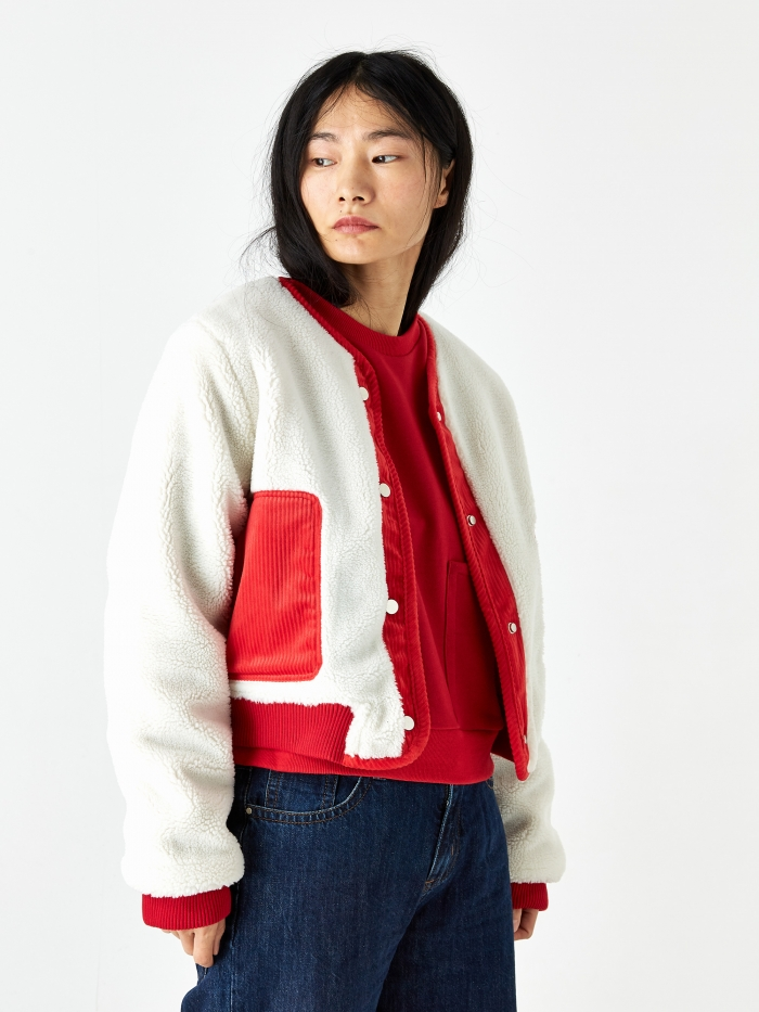 LF Markey Kit Jacket - Red (Image 1)