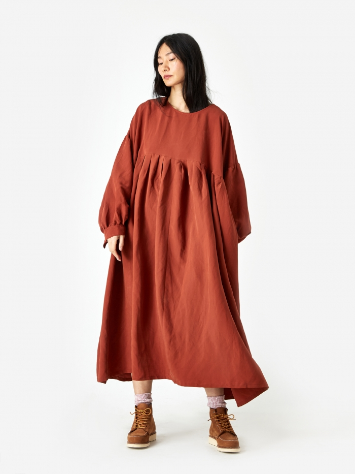 LF Markey Magnum Dress - Terracotta (Image 1)