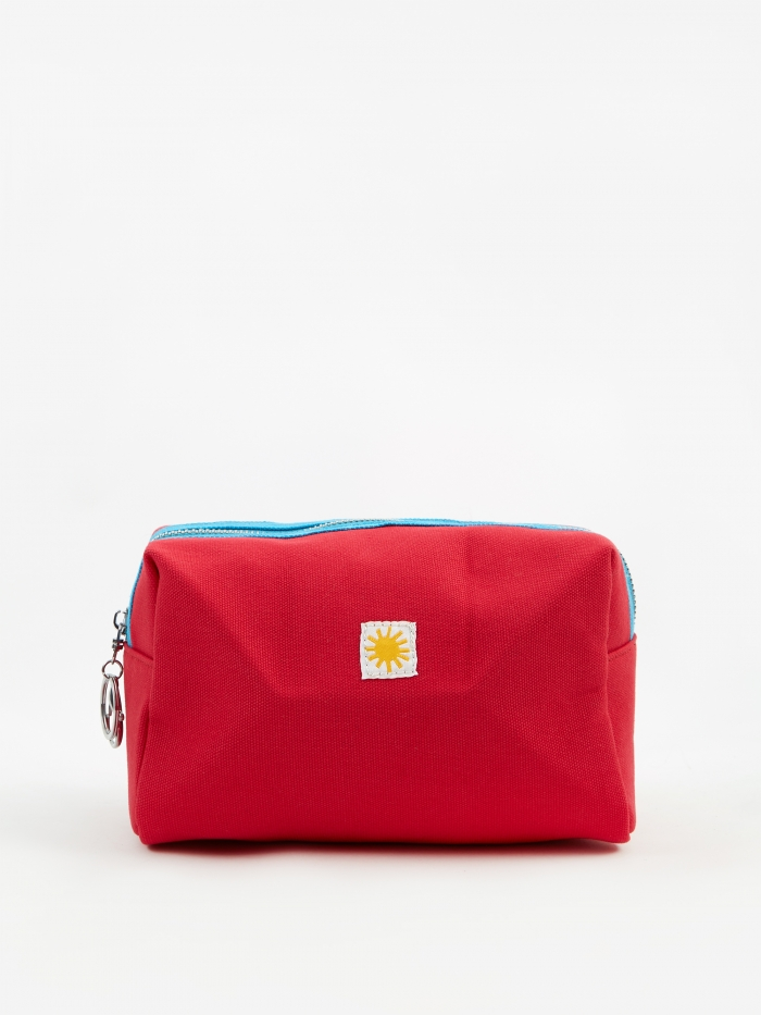 LF Markey Toiletry Case - Red (Image 1)