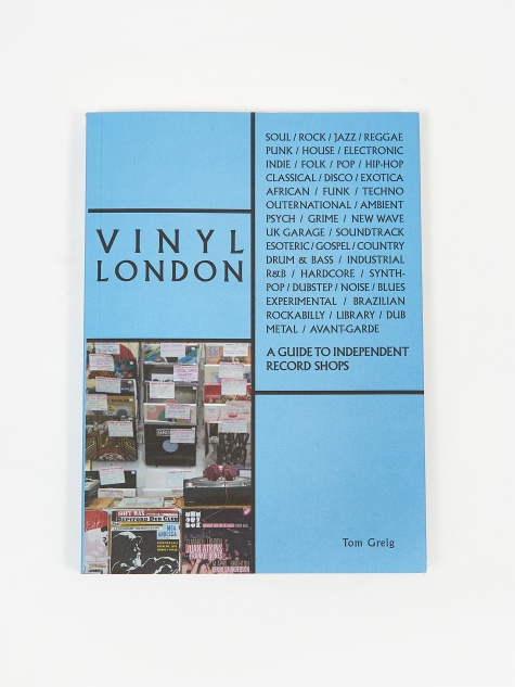 Vinyl London - A Guide to Independent Record Shops