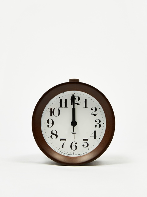Riki Alarm Clock - Brown