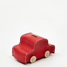 Hender Scheme Car Coin Bank - Red