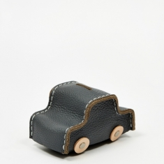 Hender Scheme Car Coin Bank - Charcoal