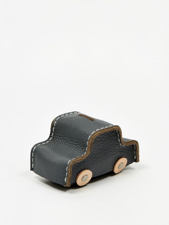 Hender Scheme Car Coin Bank - Charcoal (Image 1)