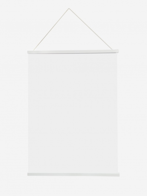 Magnetic Print Frame Large - White
