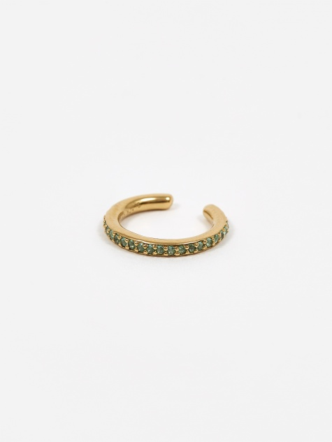 Colore Ear Cuff Mint - High Polished Gold