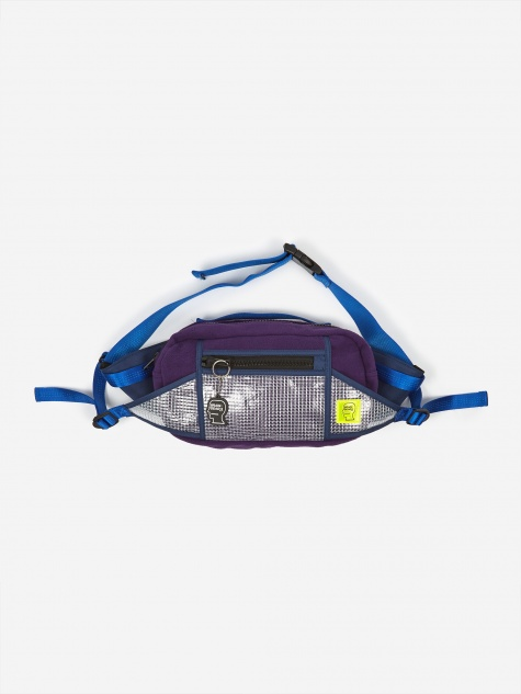 Sherpa Rush Fanny Pack - Purple/Navy