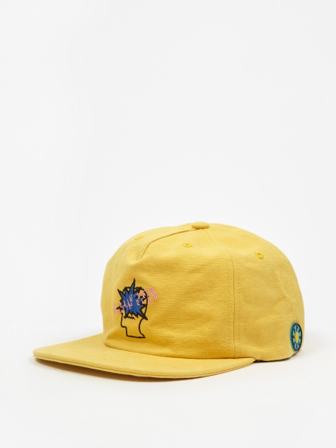 Bang Logo Strap Back Cap - Light Yellow