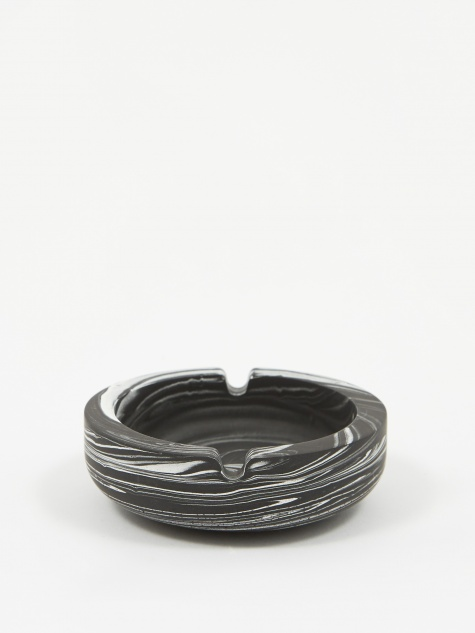 Jesmonite Black Marble Ashtray