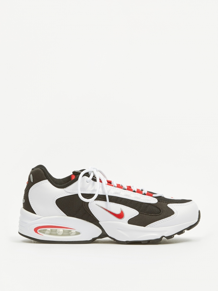 Nike Air Max Triax - White/Red/Black/Silver (Image 1)